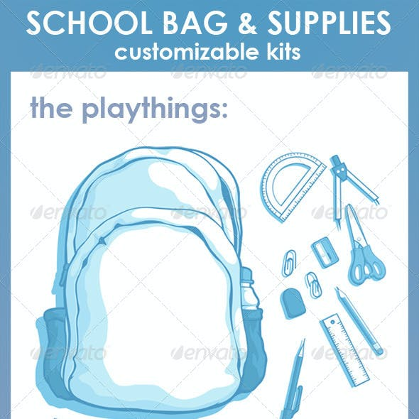 Customizable Kits - School Bag & Supplies