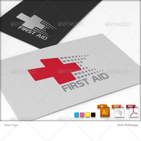 First Aid Logo Tempate