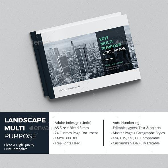 Landscape Multi-Purpose Brochure