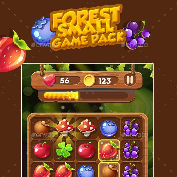 Forest Game Icons Pack