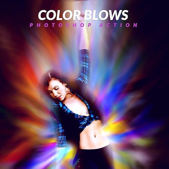 Color Blows Photoshop Action