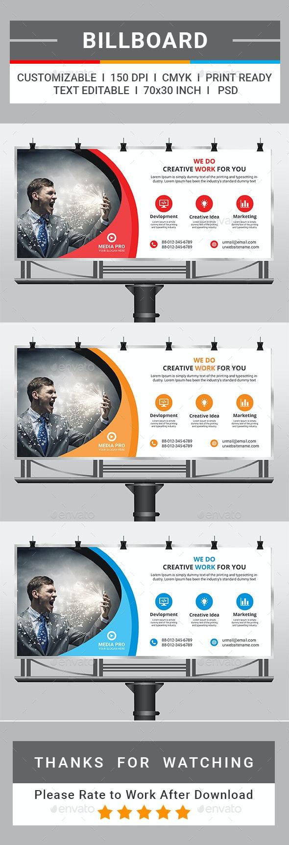 Billboard - Signage Print Templates