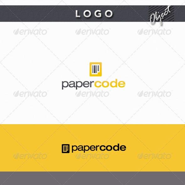 Paper Code Logo