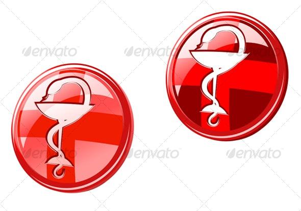 Medicine signs - Health/Medicine Conceptual