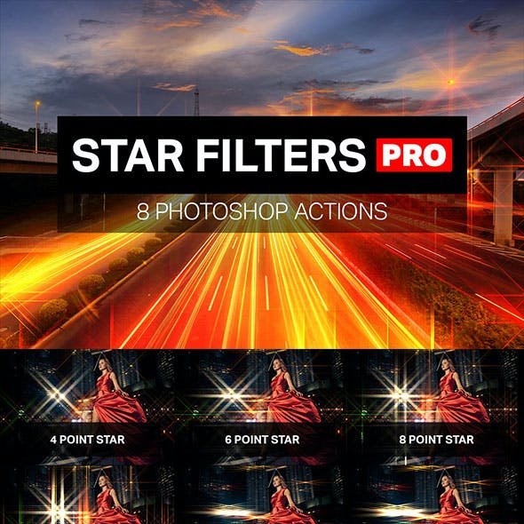 Star Filters Pro 8 Photoshop Actions