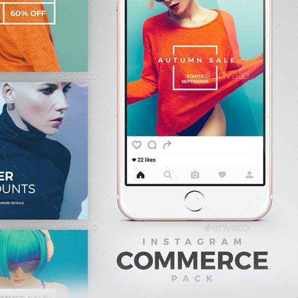 Instagram Commerce Pack