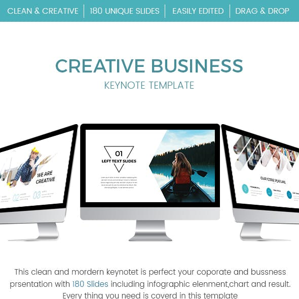 Creative Business Keynote Template