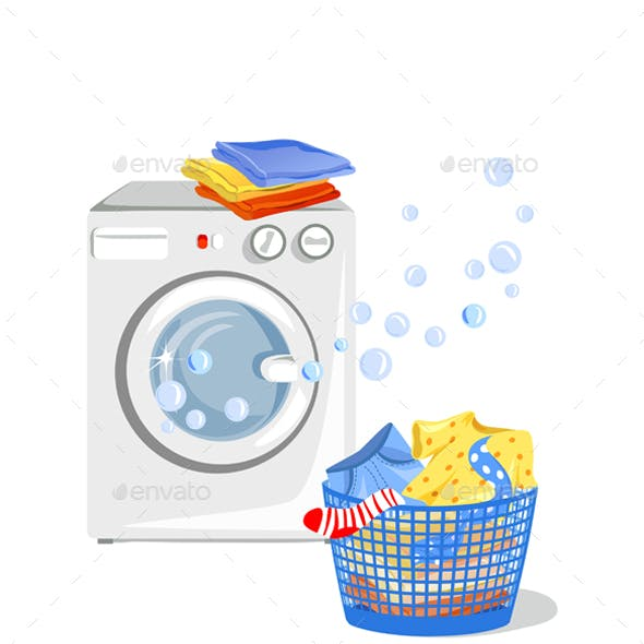 Washing Machine and Clean Clothes