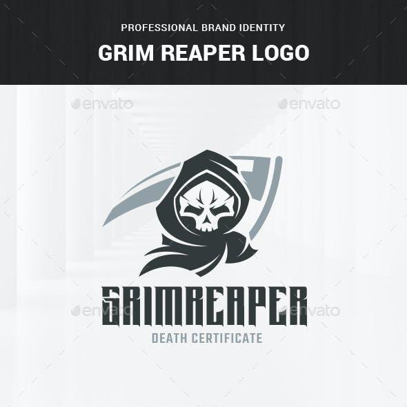 Grim Reaper Logo Template