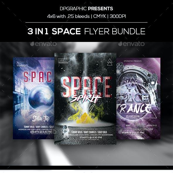 3 in 1 Space Flyer Bundle Vol. 1