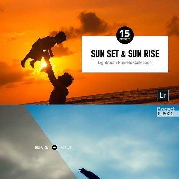 Sun Set & Sun Rise Lightroom Presets