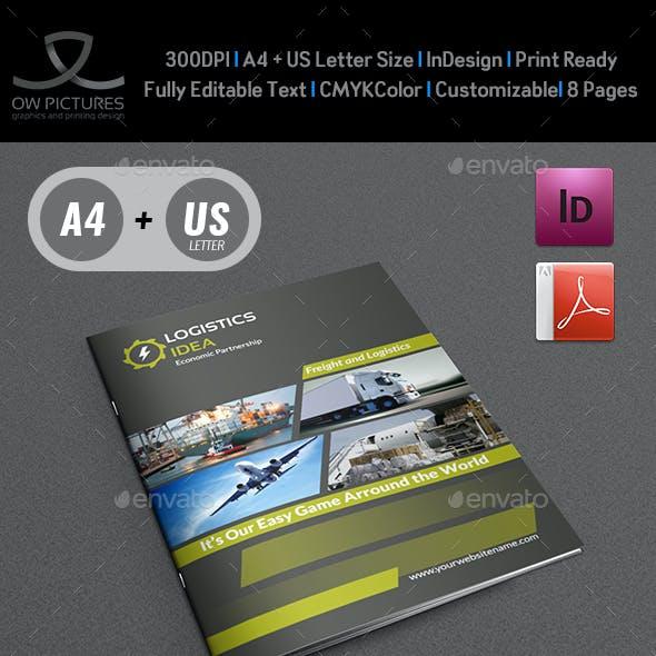 Logistics Services Brochure - 8 Pages