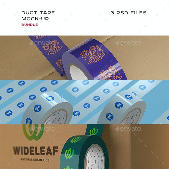 Duct Tape Mock-up Bundle