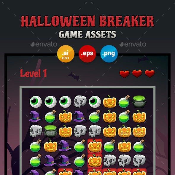 Halloween Breaker Game Kit