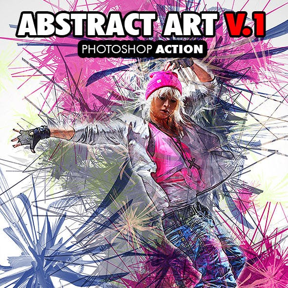 Abstract Art V.1 Photoshop Action