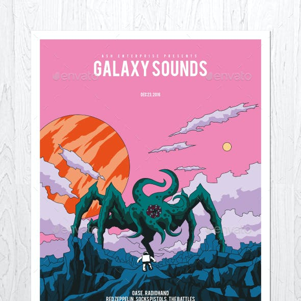 Galaxy Sounds Flyer