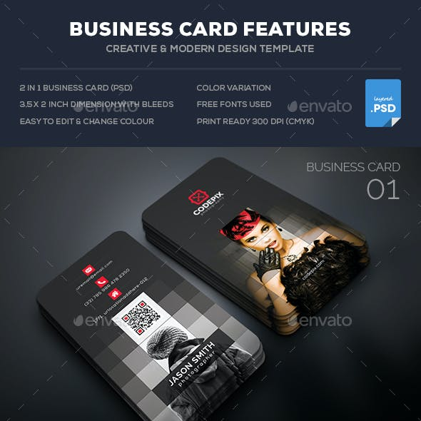 Photography Business Card Bundle