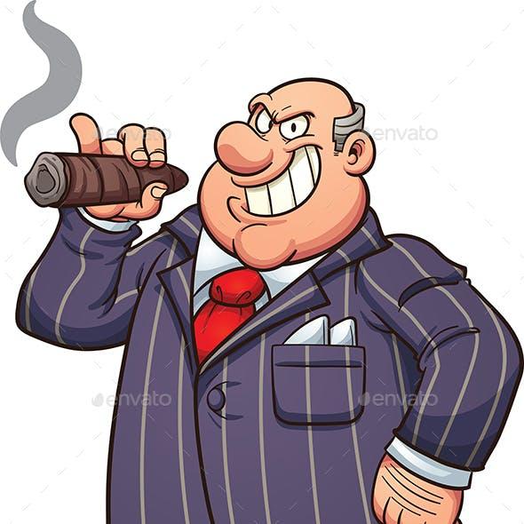 Rich Businessman