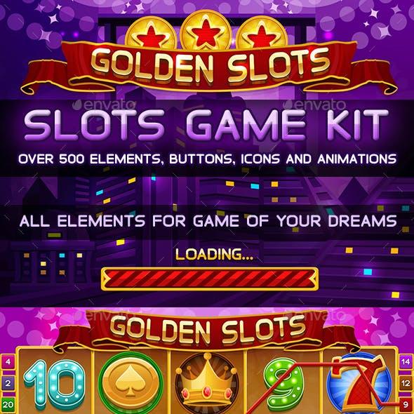 Golden Slots Game Kit