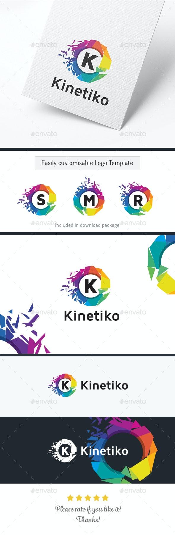 Kinetiko Letter / Alphabet - Letters Logo Templates