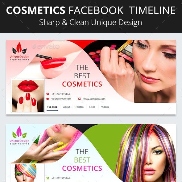 Cosmetics Facebook Timeline