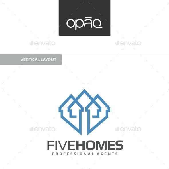 Five Homes Logo
