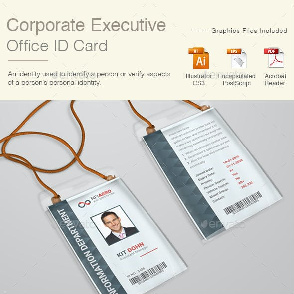 Corporate Executive ID Card