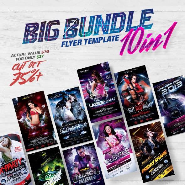 Big Bundle Flyer Template 10in1
