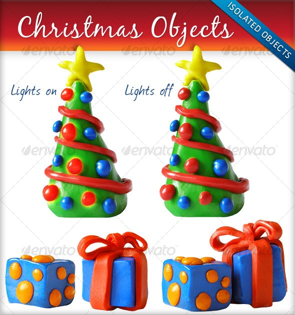 Christmas Objects - Miscellaneous Isolated Objects