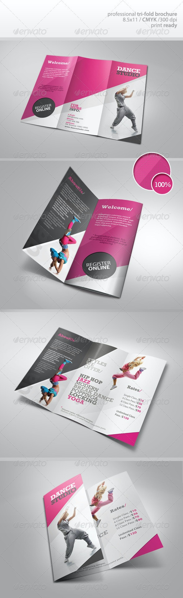 Dance Studio Brochure - Corporate Brochures