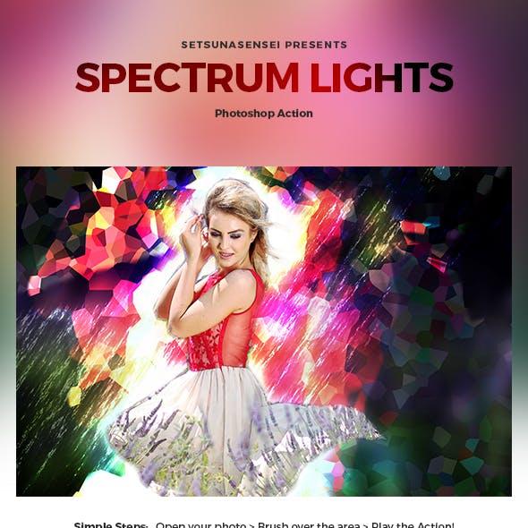 Spectrum Lights Photoshop Action