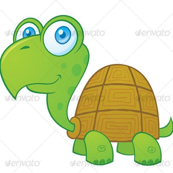 Turtle Cartoon Character