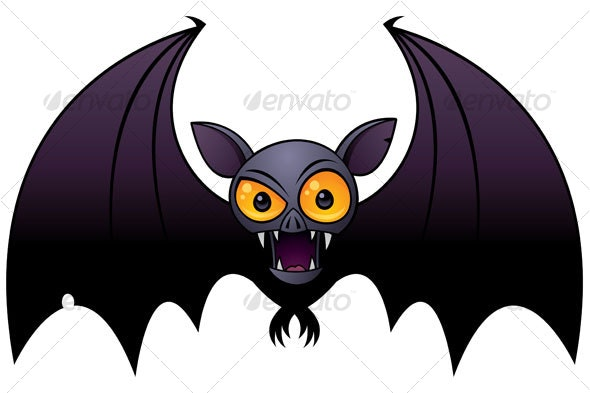 Halloween Vampire Bat - Animals Characters