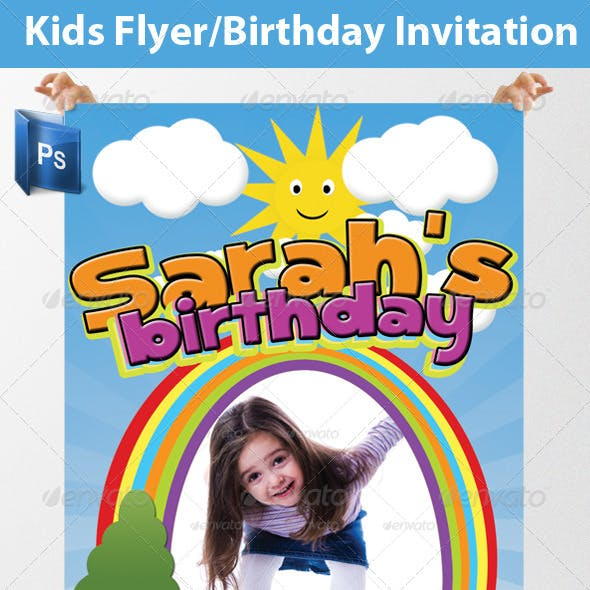 Kids Flyer/Birthday Invitation