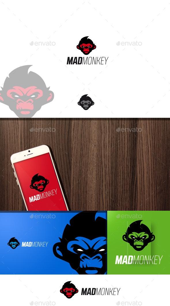 Madmonkey Logo - Animals Logo Templates