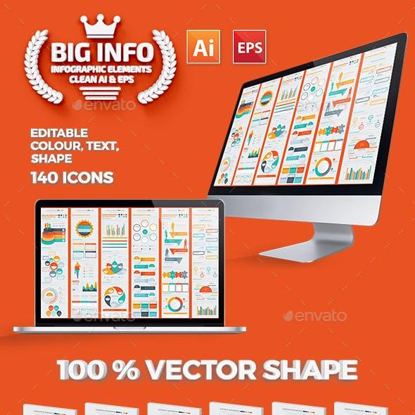 Big Infographics Elements