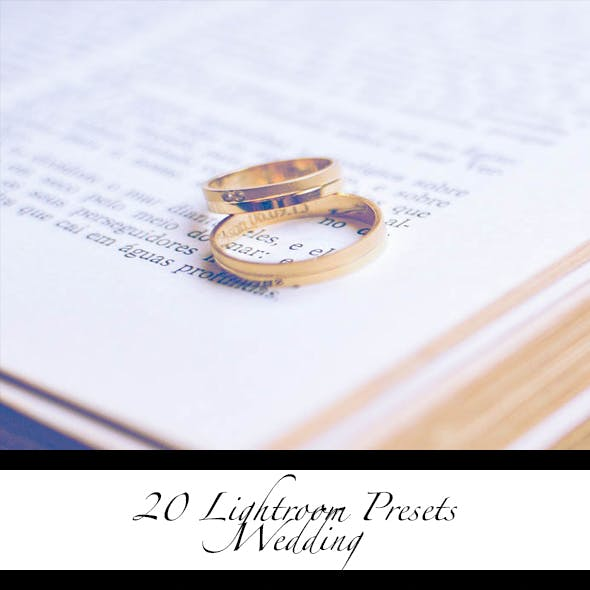 Wedding Lr Presets