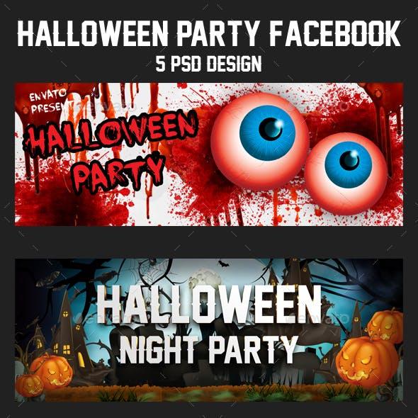 5 Halloween Facebook Timeline