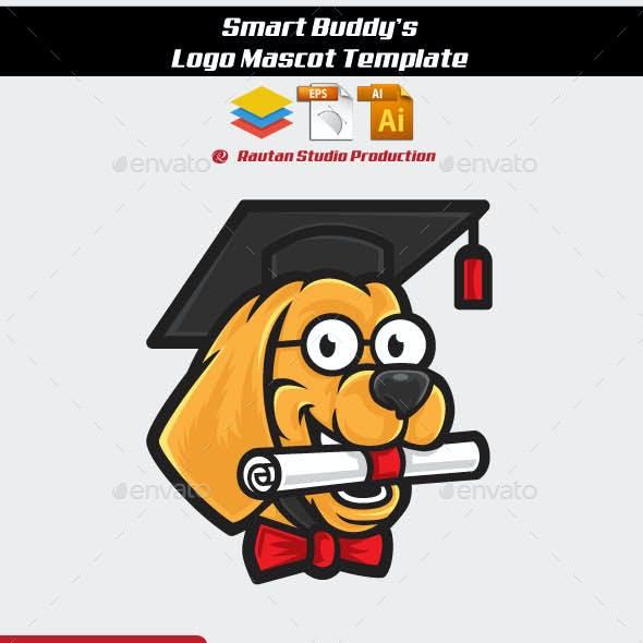 Smart Buddys Logo Mascot