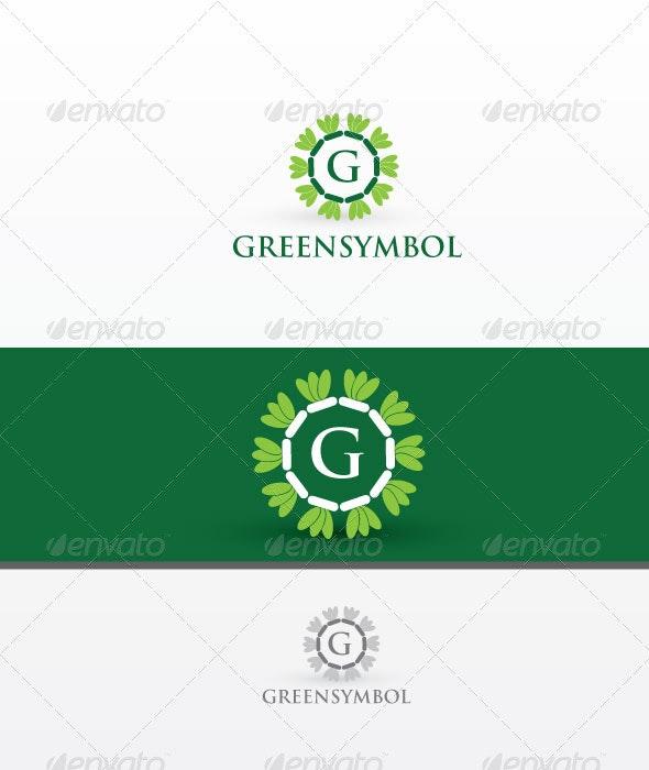 Green Symbol - Letters Logo Templates