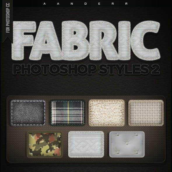 Fabric Photoshop Styles 2