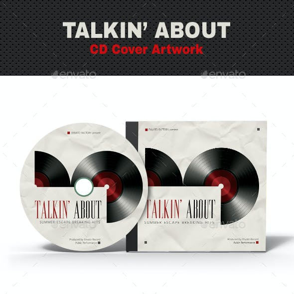 Talk About Music CD Cover