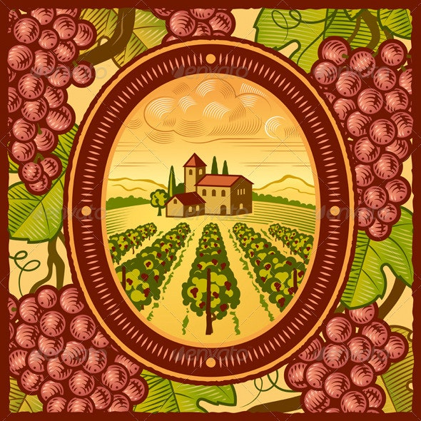 Vineyard - Food Objects