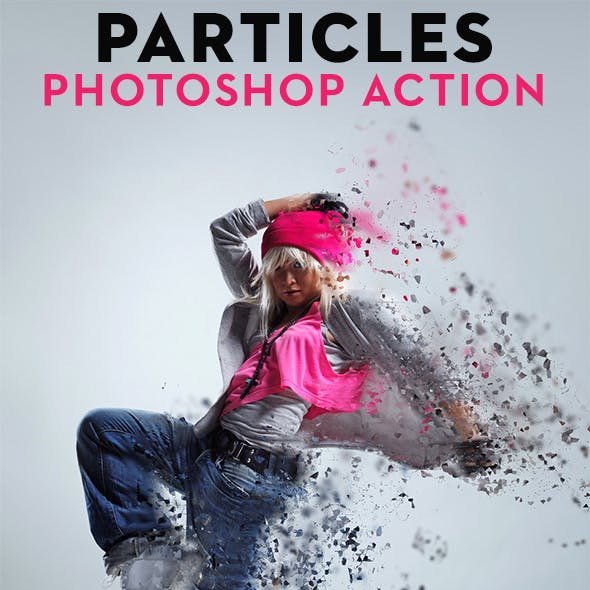 PARTICLES Photoshop Action