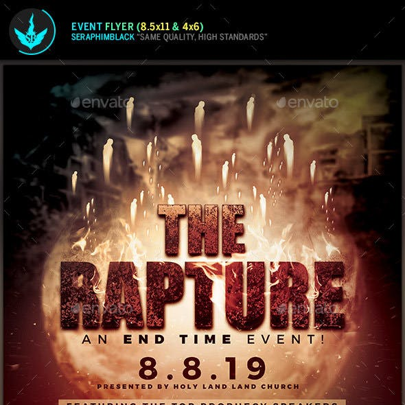 The Rapture Conference Flyer Template