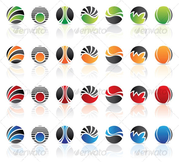 Round Icons - Abstract Icons