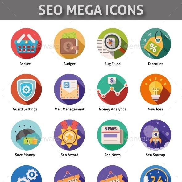 Seo Mega Icons