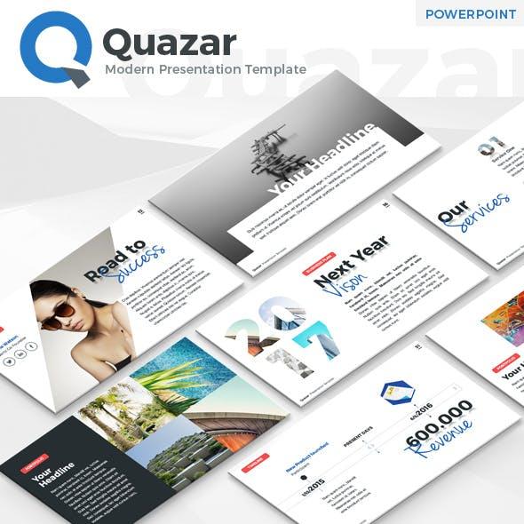 Quazar - Modern PowerPoint Template