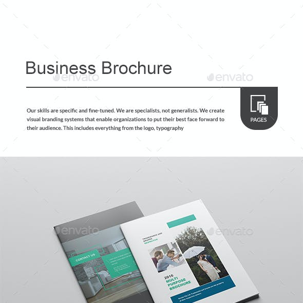 Brochure - Template for Indesign