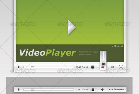 Light VideoPlayer - Miscellaneous Graphics